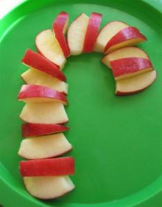 candycane apple
