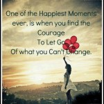 Letting Go of What You Cannot Change