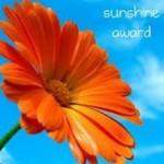 Sunshine Blogger Award!