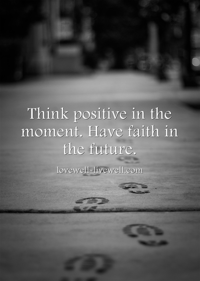 positivity and faith