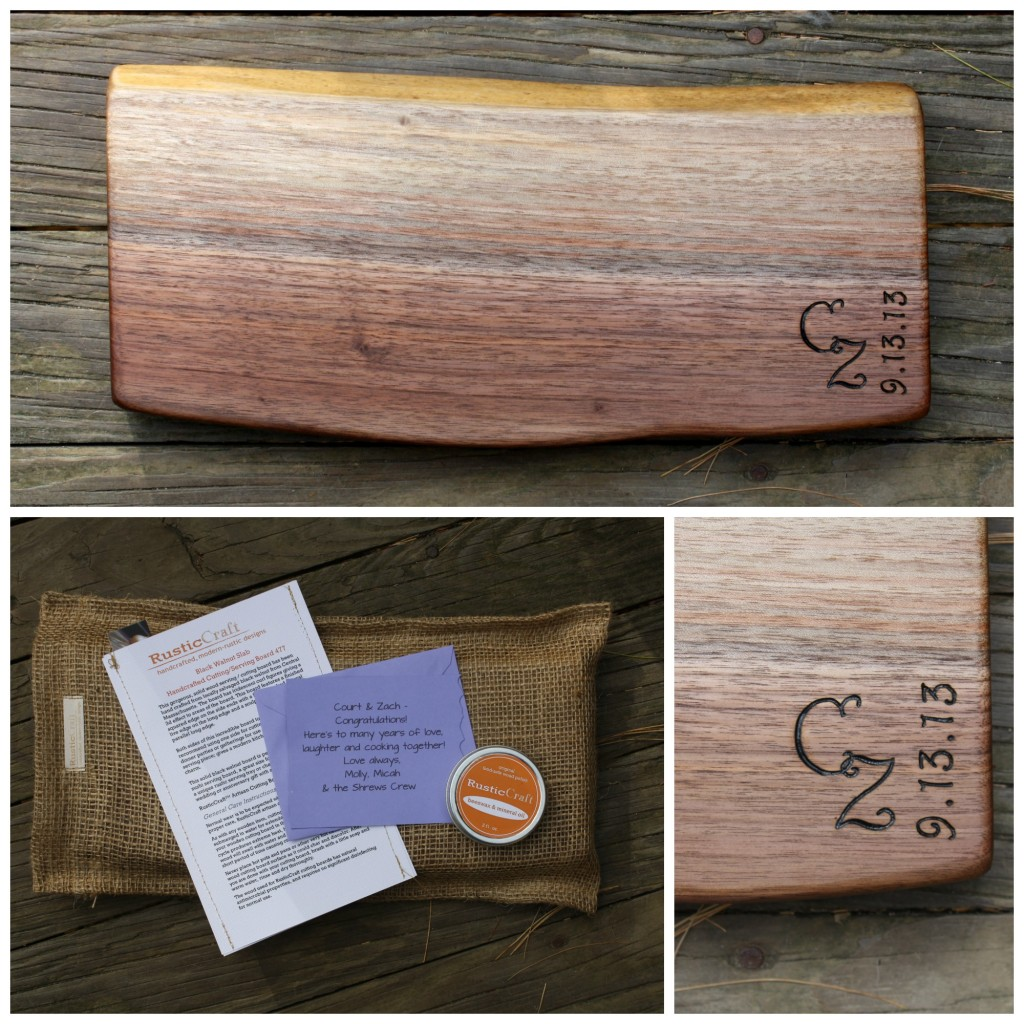 cutting board, personalized gift