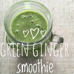 Ginger smoothie